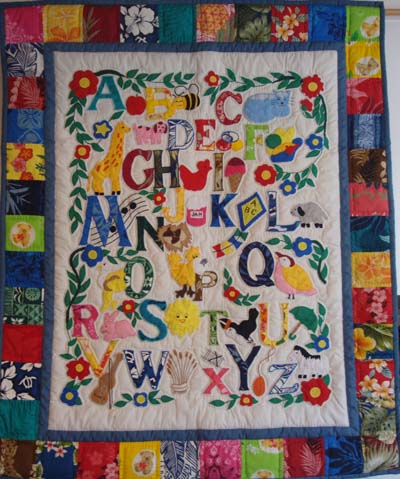 Baby and Children Learn ABC Quilts : abc quilt - Adamdwight.com