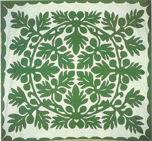 Tifaifai Hawaiian Antique Quilt Designs